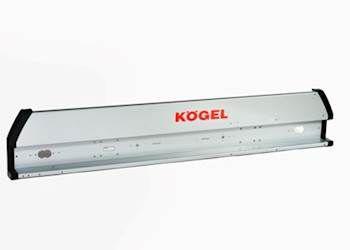 6605263 Панель задних фонарей металл