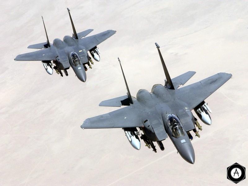 американские истребители F-15