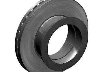 6609676 Оригинальный JOST тормозной диск 19,5, d37