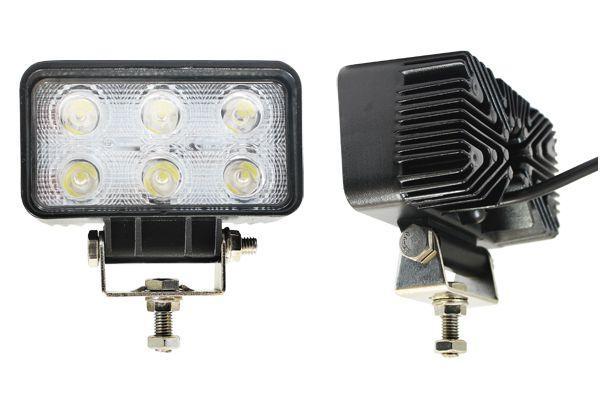 AT15739 Фара светодиодная пт и рабочего света, 10-30V, 18W (110х65мм, 6 LED)