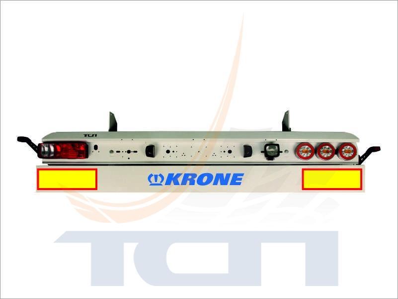 T900220 Комплект панель+брус противоподкатный KRON