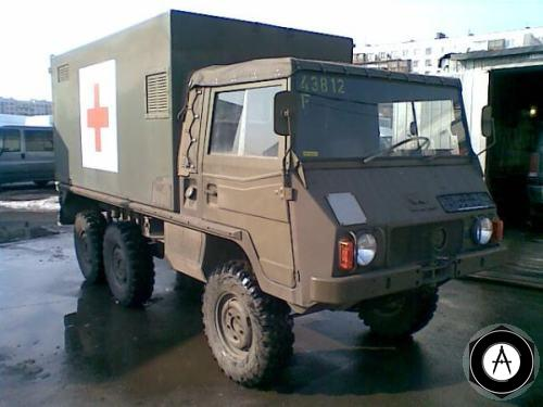 Steyr Puch 712 AMB санитарный 1981-1982 гг