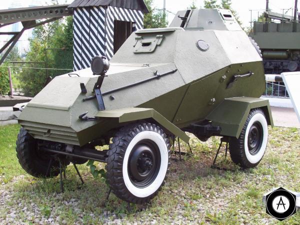 бронеавтомобиль БА-64Б, на базе ГАЗ-67