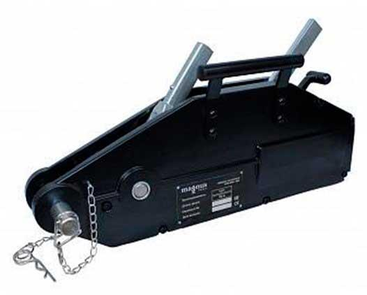 SZ036681 Лебедка мех. WRP3200, 3.2 т, c канатом 20м MAGNUS PROFI ORIGINAL