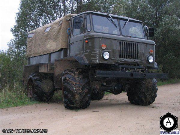 ГАЗ 66 внедорожный тюнинг