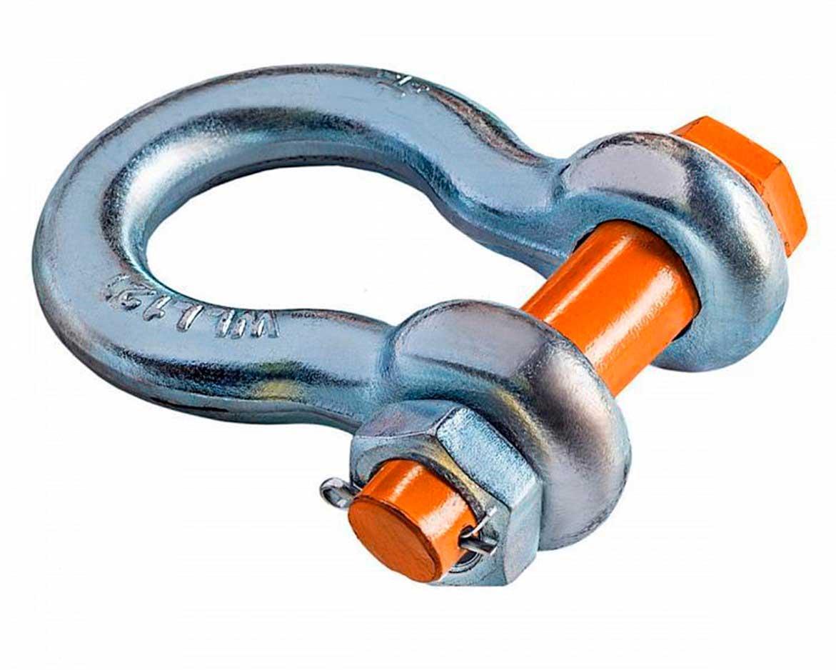 SZ059831 Скоба омегообразная со шплинтом G2130 Magnus-Profi, 25.0 т