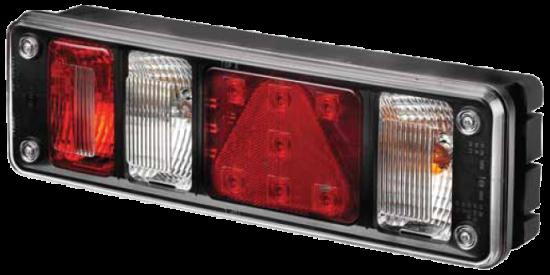 5611432 Фонарь задний правый KRONE NEW с AMP разъёмом