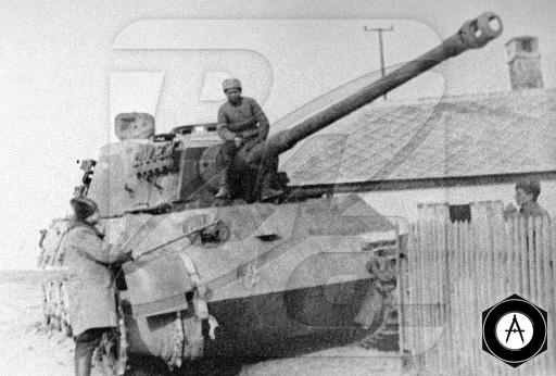 захвачен Королевский Тигр 1945