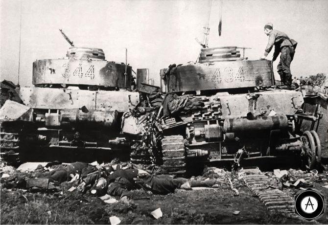 побоище под Бобруйском лето 1944, брошенные Pz IV