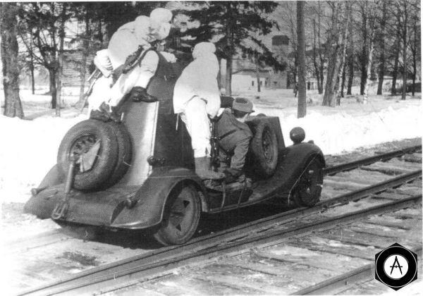 Бронеавтомобиль БА-20 на базе ГАЗ-М1