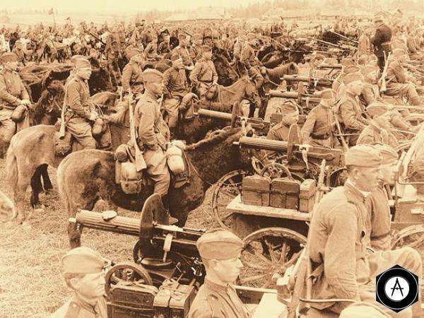 кавалерия РККА
