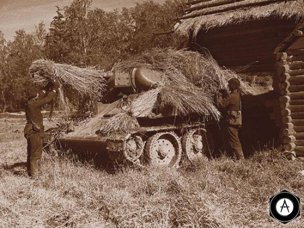 маскировка Т-34-76