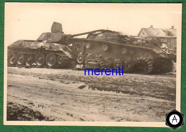 Т-34 таранил Артштурм