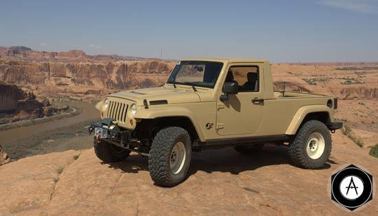 пикап Jeep Wrangler JT