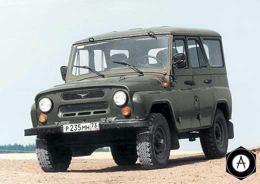 УАЗ-469 с металлической крышей
