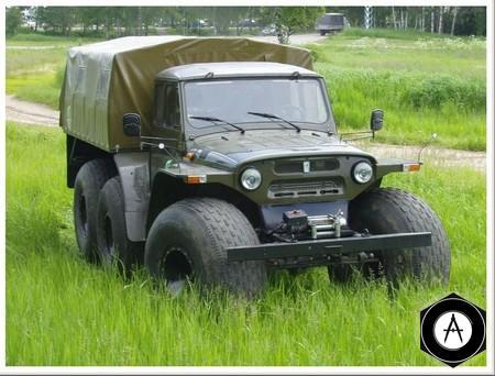 УАЗ 469 болотоход