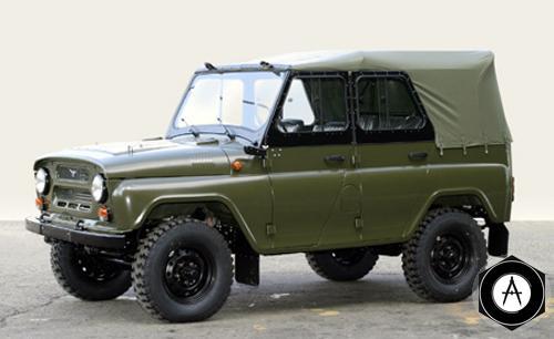 армейский УАЗ 469
