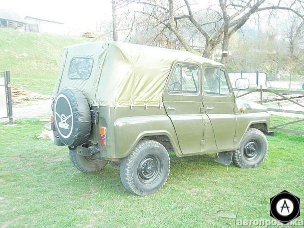 Вид сзади - УАЗ - 469