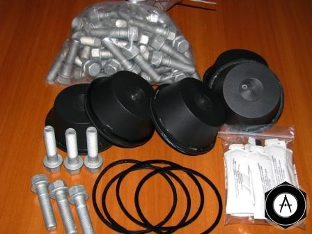 6502833 Рмк на 6-ть ступиц TRAXX колпаки+болты+смазка