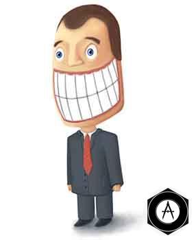 деловая улыбка