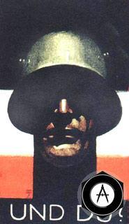 Плакат Германии WWI