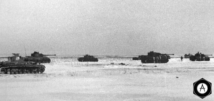 9 марта танковый корпус СС отбивает у врага переправы