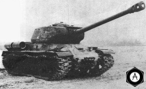 is2_в танковом сражении