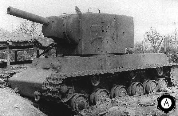 kv2_Отражал атаки американских танков в апреле 1945