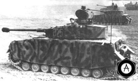 PzIV_Немецкие танки перед атакой