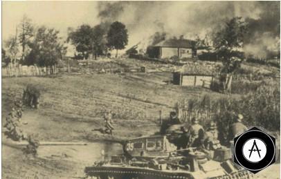 Tank_ataka на русскую деревню