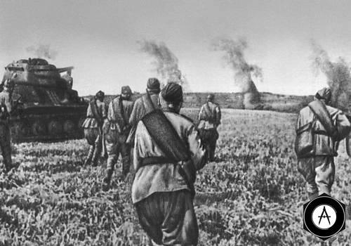 Атака 5-го Гвардейского танкового корпуса