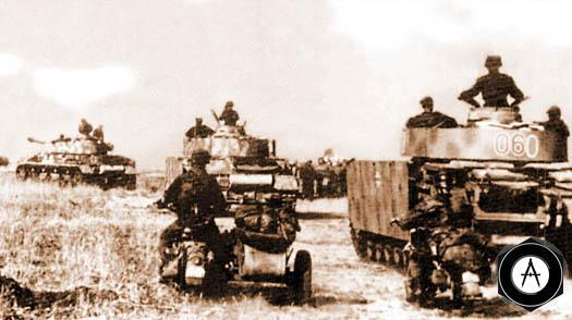 Атака XXXXVII танкового корпуса и II танкового корпуса