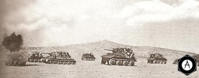 атака танков Тетрарх, Т-34