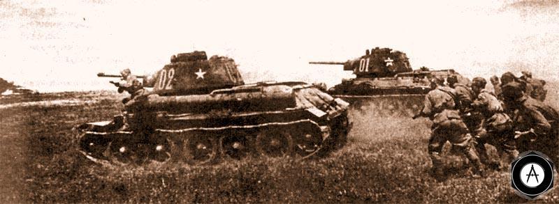 Атакует 24-й танковый полк 46-й мехбригады