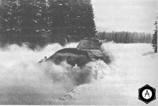 В атаке - танк Т-34 производства СТЗ