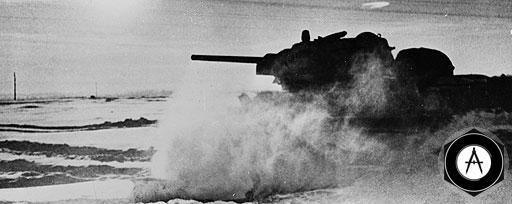 В атаке под Сталинградом