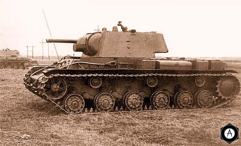 КВ-1 124-я танковая бригада, октябрь 1941