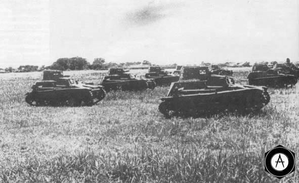Малые танки 2592 в атаке, Китай