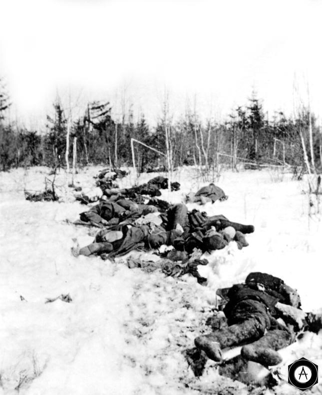 погибшие красноармейцы