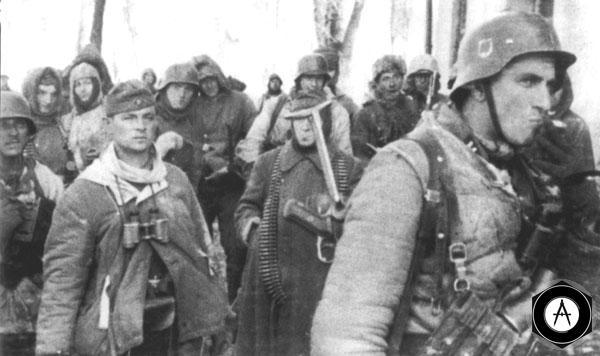 солдаты дивизии Лейбшандарт