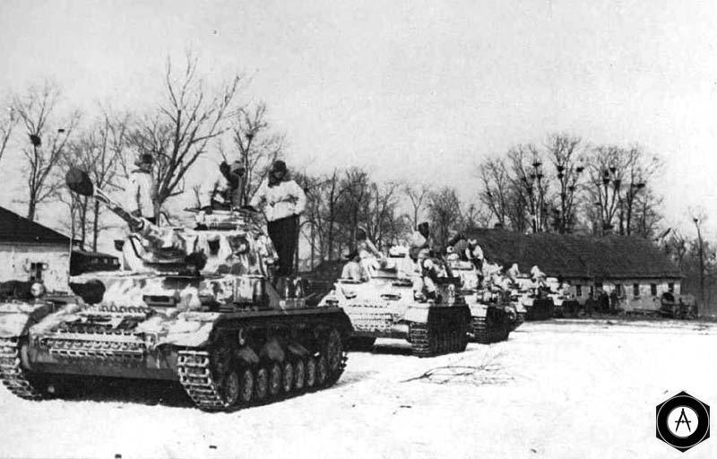 Т-4 перед наступлением