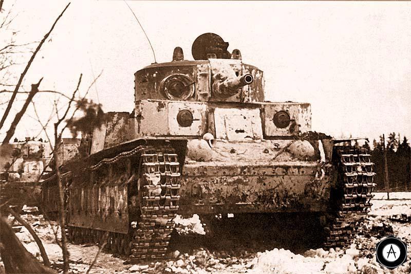 Т-28 из состава 90-го танкового батальона