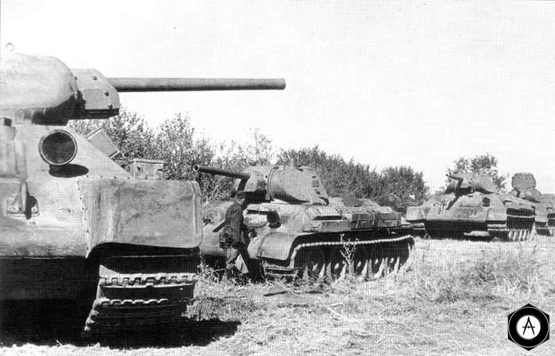 Т-34 сосредотачиваются