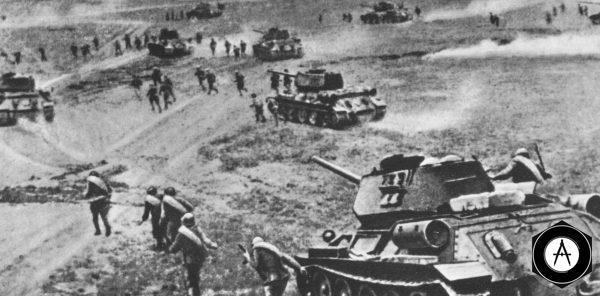 Танки в бою Вторая мировая война