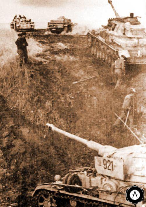 Танки Т-4 (PzKpfw IV) дивизии Мертвая голова