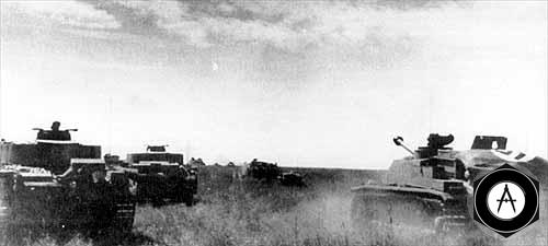 Танковая атака prohorovka