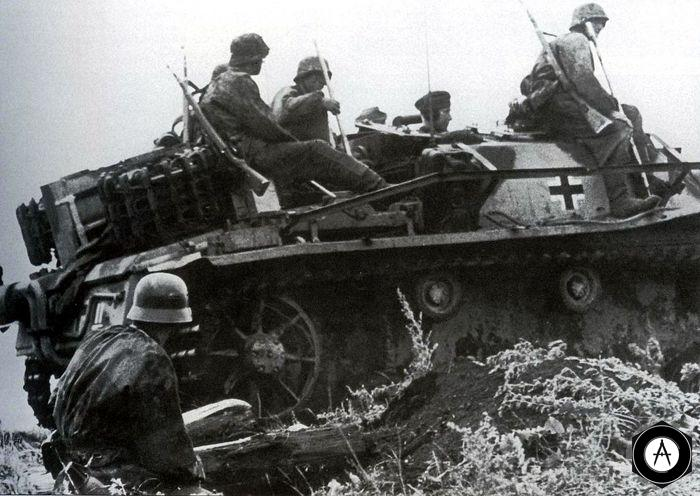 Танковый десант сапёров-подрывников (sturmpionieren)