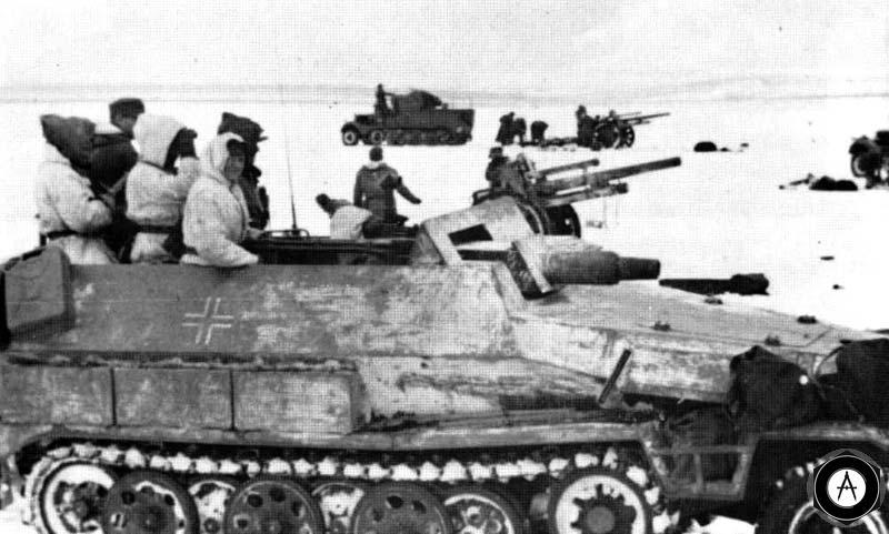 Танковый корпус СС атакует к западу