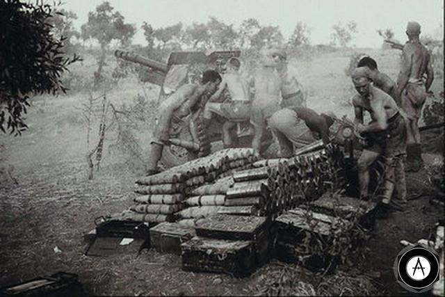 артиллейская дуэль