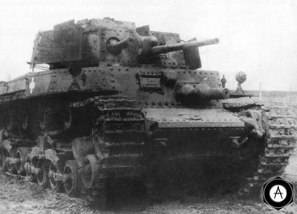 венгерский танк 40M Туран